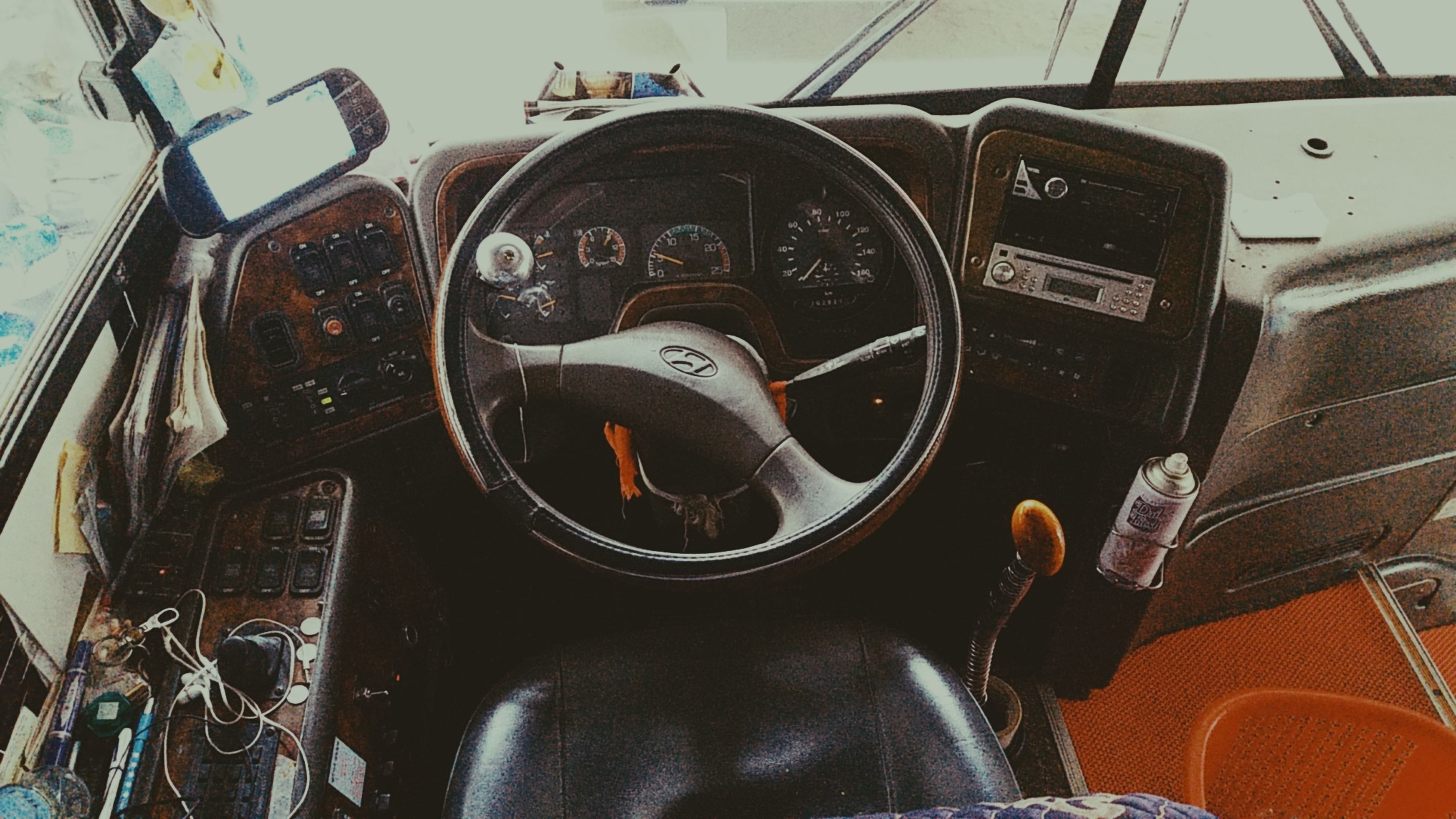 vehicle interior, dashboard, transportation, car, mode of transport, steering wheel, control, speedometer, car interior, land vehicle, close-up, control panel, day, technology, no people, indoors, gauge, cockpit