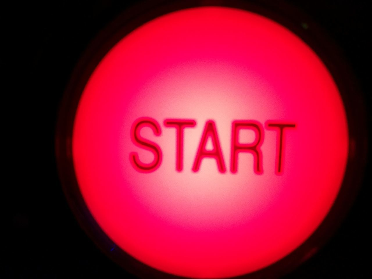 Start Red Light Button Starting A Good Day Started From The Bottom