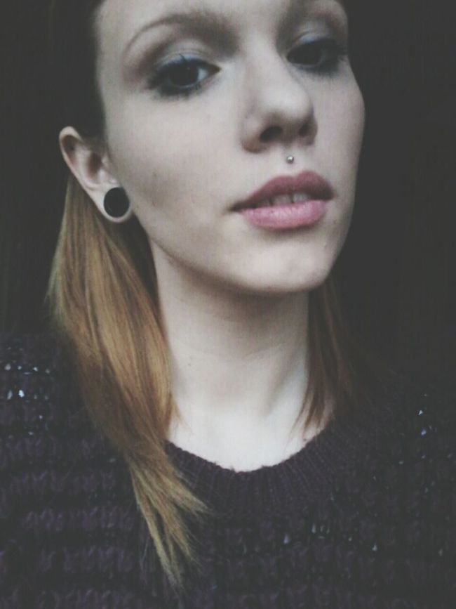 """""""We both know that nights are made for to say things which the day after you wouldn't say."""" Self Portrait Piercing Plugs"""