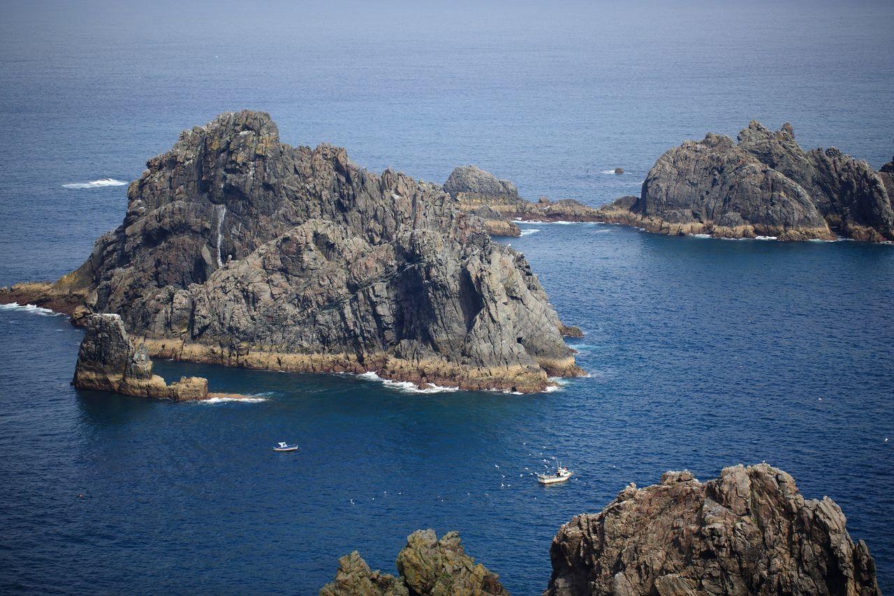 Pescando entre el Cantábrico y el Atlántico, Cabo Ortegal Galicia Cantábrico Atlantic Ocean