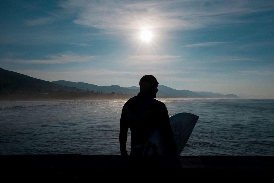 Cayucos Cayucos Cayucos Beach, CA California Surfing Surf Photography Surfer Surf Sun Portrait Beach Coast Candid Sunburst