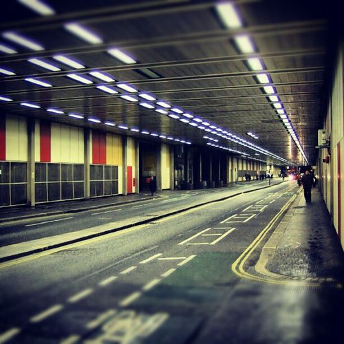 Beech Street Tunnel (Underpass), Barbican, London. (2008). London Barbican Whpunderoverpass