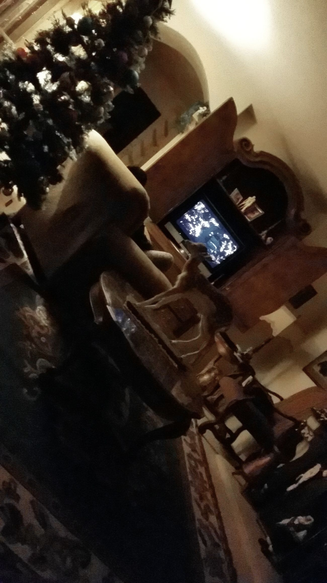Indoors  Night Home Is Where The Art Is Scary Movie Seasons Riverside California