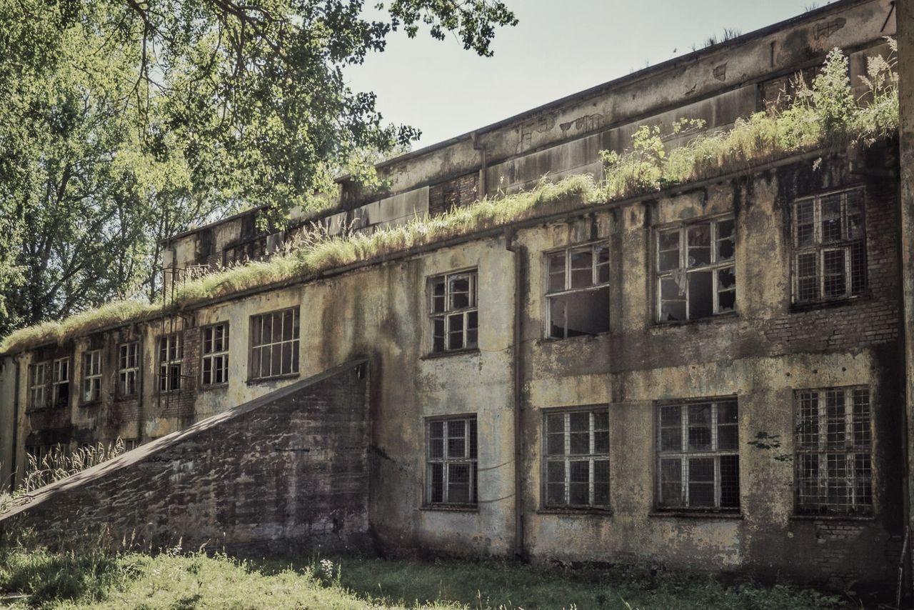 Pütnitz Military Nature Abandoned Buildings Historic Abandoned Places