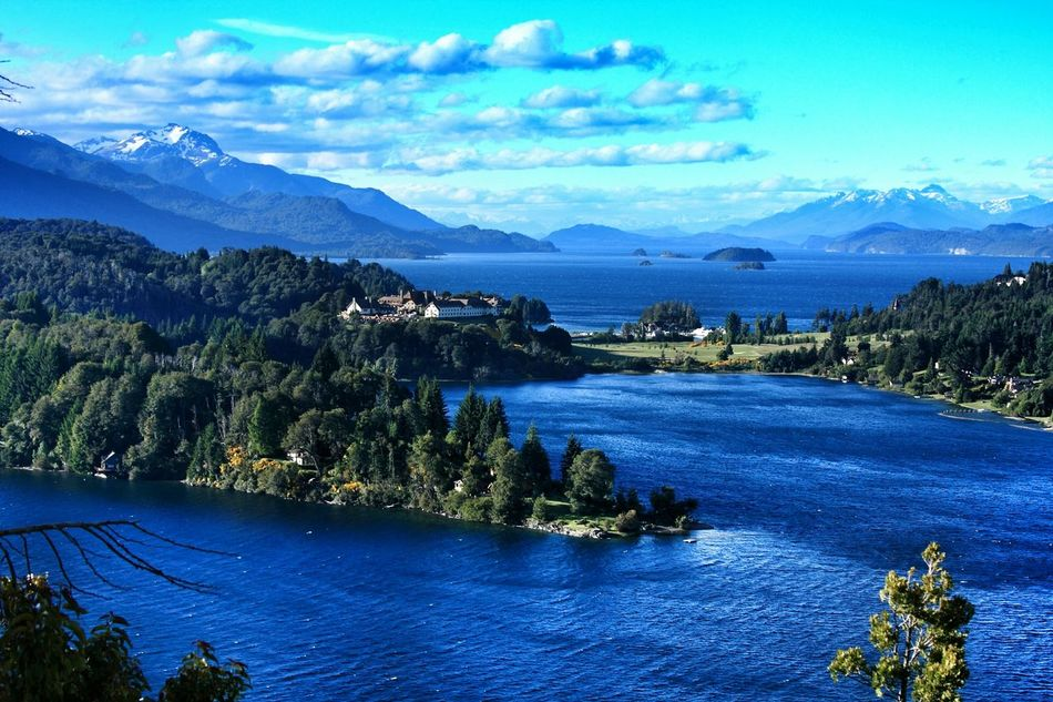 Sitio elegido por Obama en su viaje a la Argentina. Panoramic View. Bariloche: Llao Llao View. Moreno Lake at front. Nahuel Huapi Lake and Puerto Pañuelo behind. Patagonia Argentina. Unykaphoto Bariloche Citytour Bariloche Puerto Pañuelo Nahuel Huapi Lago Nahuel Huapi Lago Moreno Llao Llao Llaollao The Great Outdoors - 2016 EyeEm Awards The Great Outdoors With Adobe