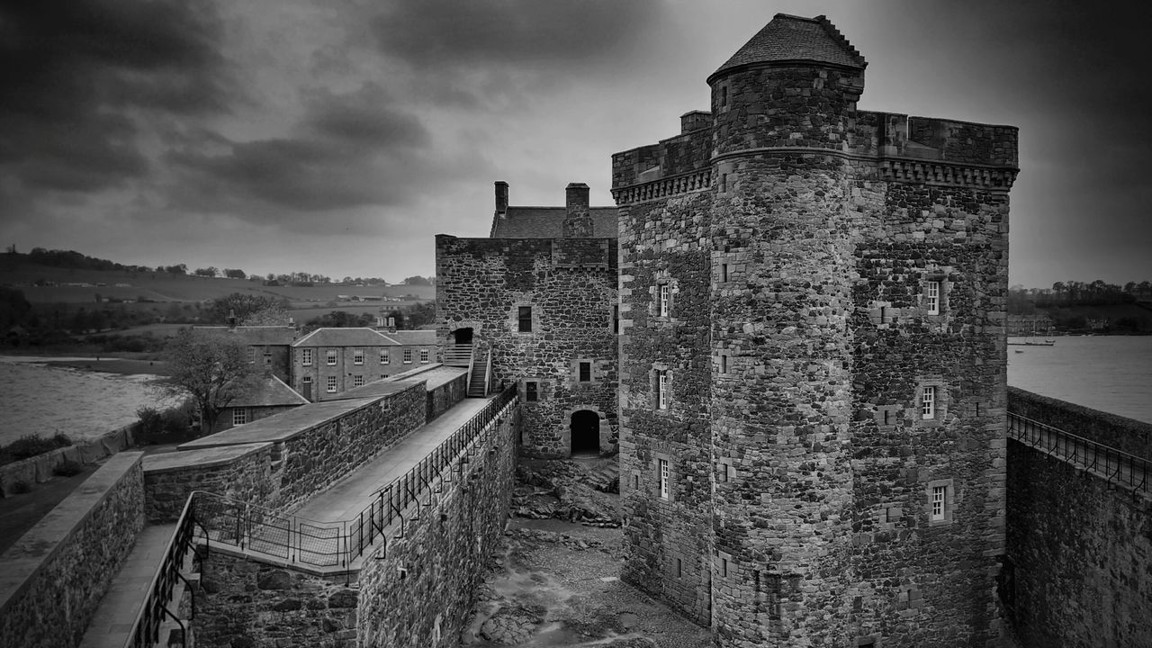 Blackness Castle in Scotland one of the Outlander locations
