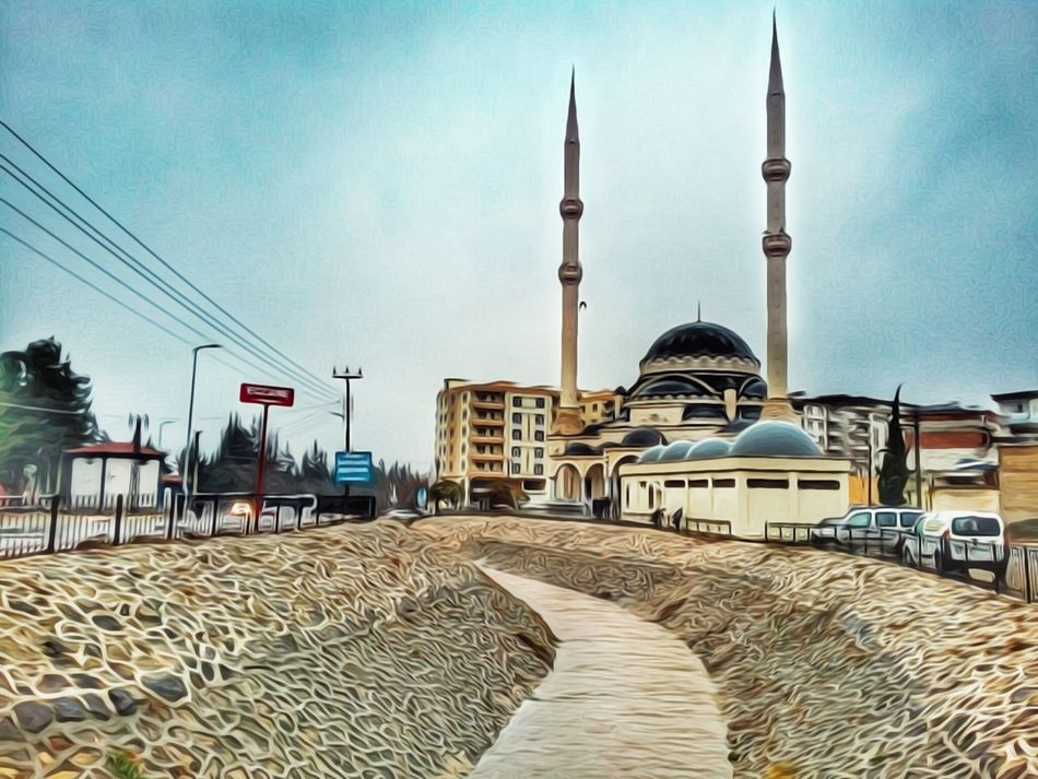 Memleket Dome Place Of Worship Sky Architecture City Tower No People Outdoors Day Cultures Turkey Kilis Hanging Out Traveling Relaxing Streetphotography Photography Check This Out Travel Photography Cityscape First Eyeem Photo City Travel Nature Travel Destinations