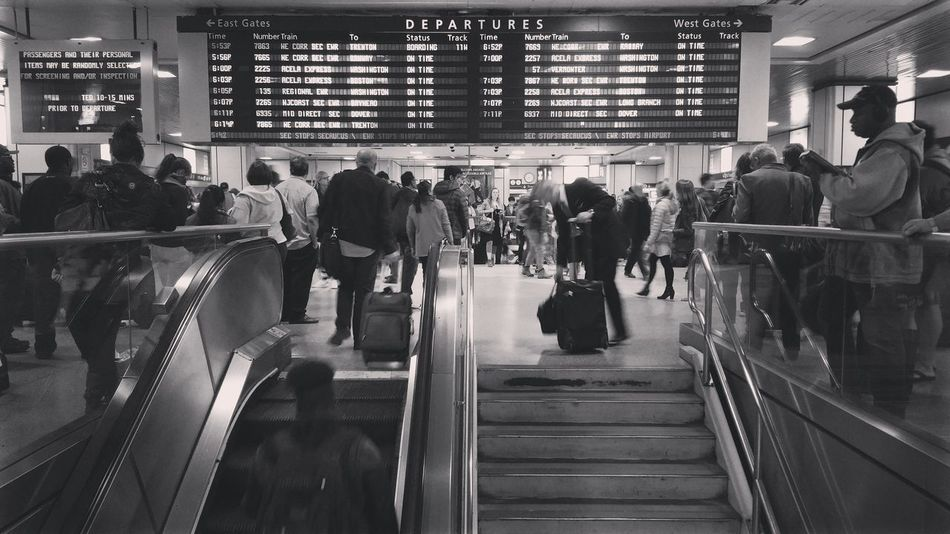 New York Penn Station New York City Manhattan Public Transportation Notes From The Underground Commuting My Commute