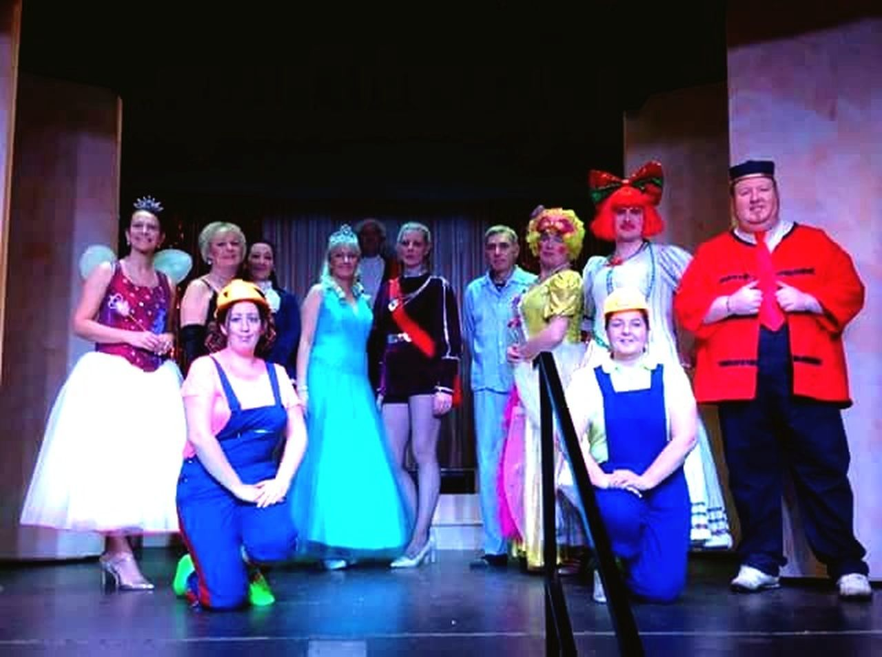 Bispham Blackpool St Bernadettes Players Pantomime Cinderella 40years First Eyeem Photo People Amateur Drama Stage Lights Scenery Show February 2017 My First time at Directing. The show was a huge hit. so proud.