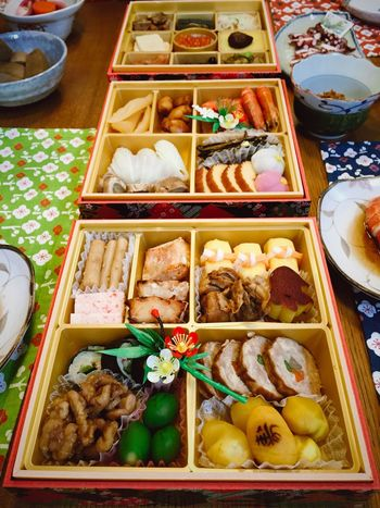 A Happy New Year Japanese Culture Japanese Food Variation Food Food And Drink Dumpling  Food Stories No People