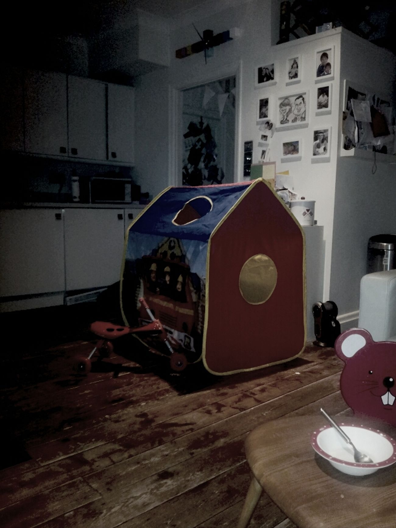 The Christmas Tent...