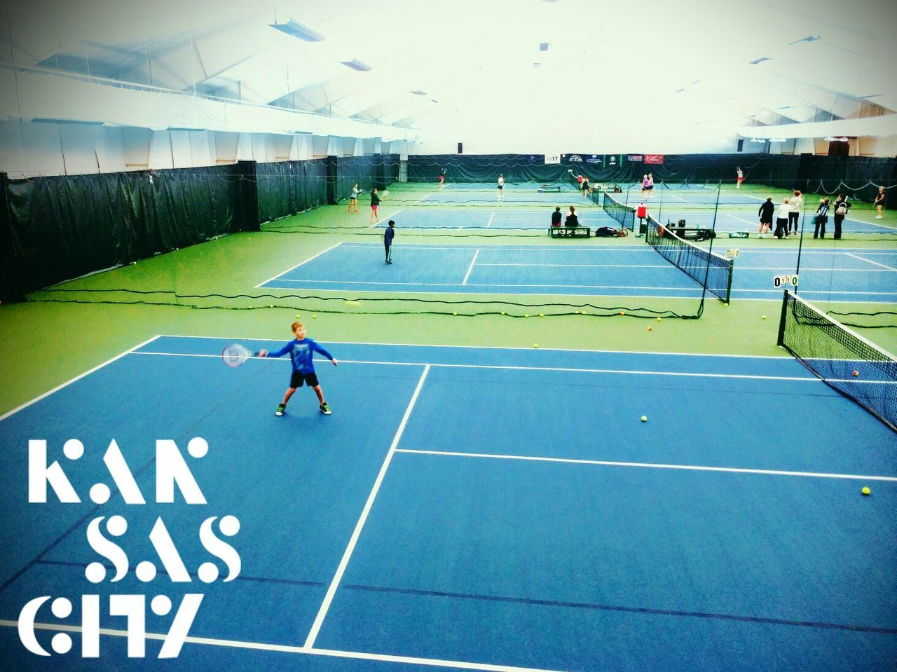 Sport Competitive Sport Sports Training Professional Sport Athlete Competition Sportsman People Real People Kids Tennis Tennis Court Tennis Under 10 Swing Kansas City Hilltop Individual Sport