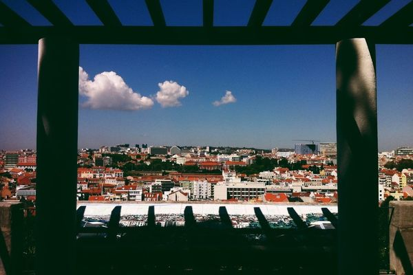 landscape in Lisbon by David Clifford
