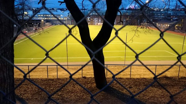 Lovely Kanalplan Football Ground Hammarby Bajen Football Södermalm Soccer Practice Fence