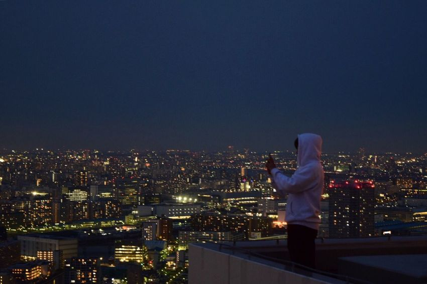 TOP Tokyo Japan EyeEm Best Shots EyeEm EyeEm Nature Lover EyeEm Gallery City Lights Cityscape Clear Sky Cityscape Architecture Building Exterior One Person ThatsMe