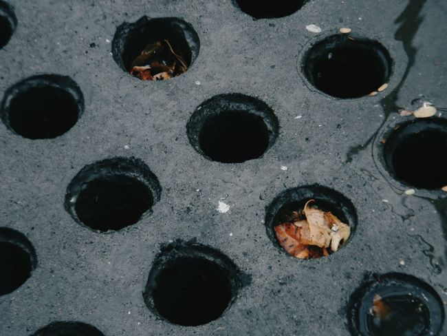 Taking Photos Street Photography Potholes Polka Dots  Design Randomness Abstract Check This Out Colour Palette