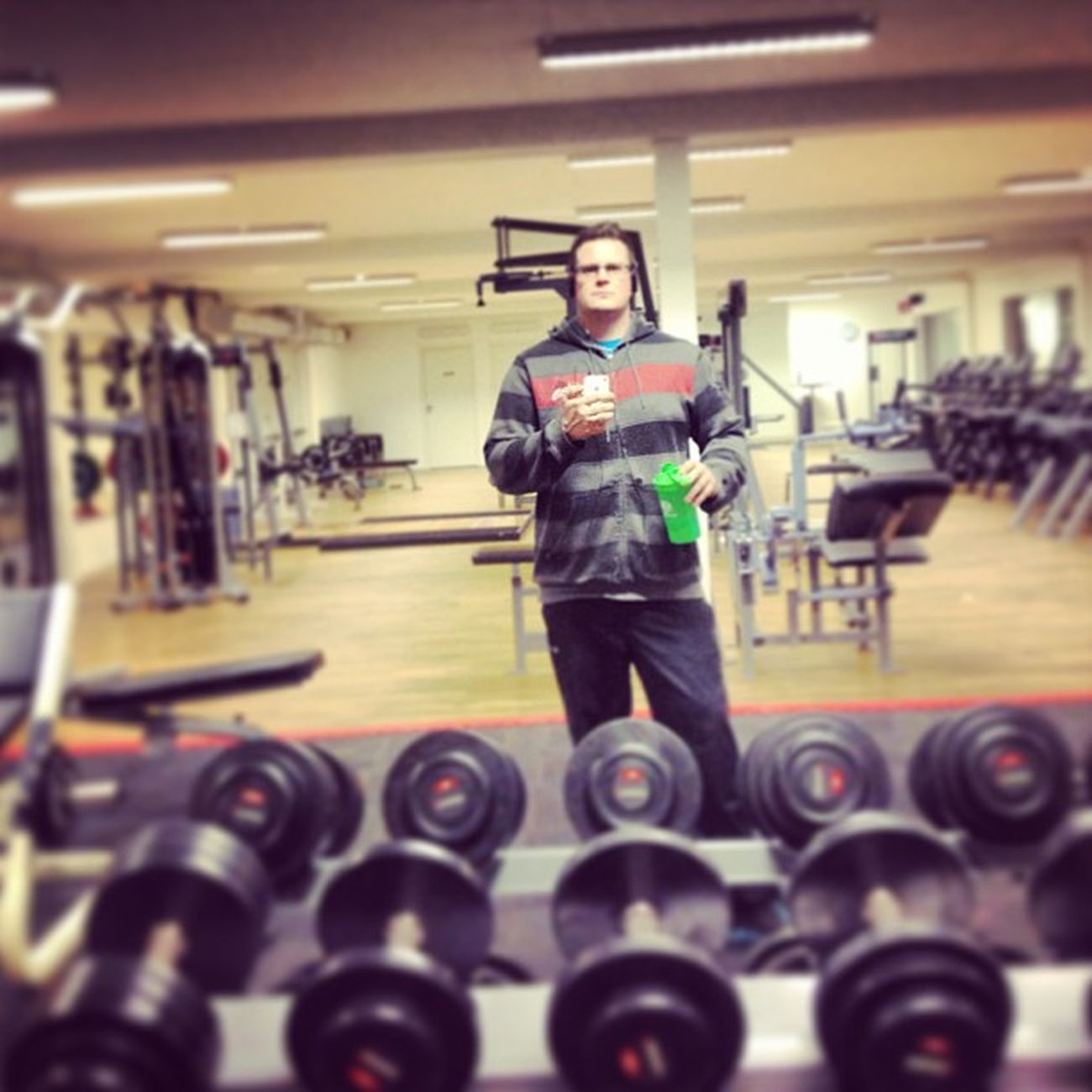 Late night session... Bmr Smartshake Sportlife