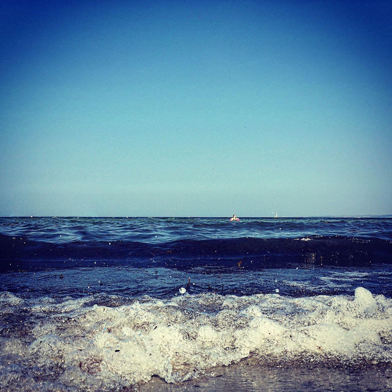 Staring At The Sea Water