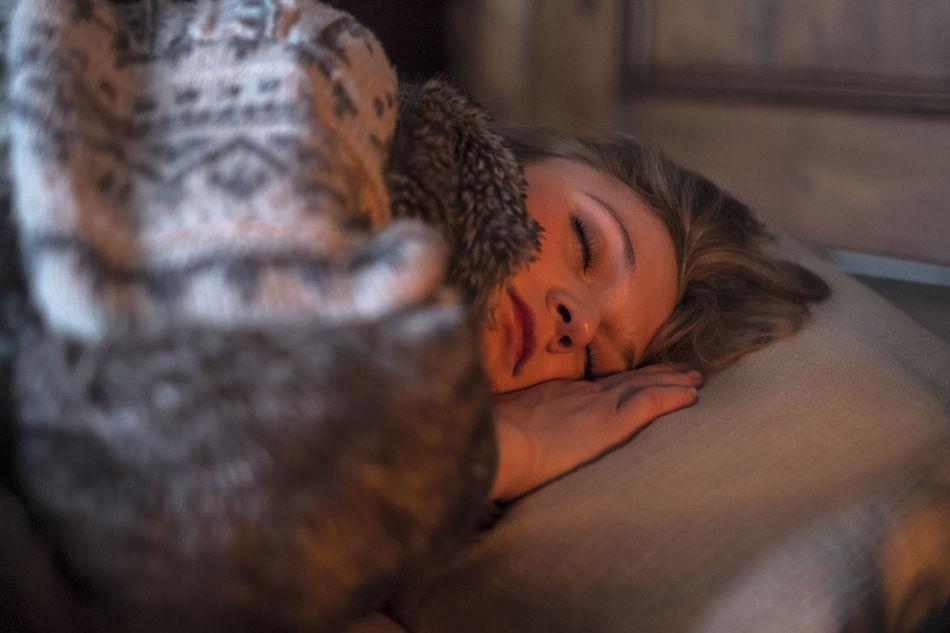 Beautiful stock photos of sleep, Blanket, Caucasian Ethnicity, Close-Up, Comfortable