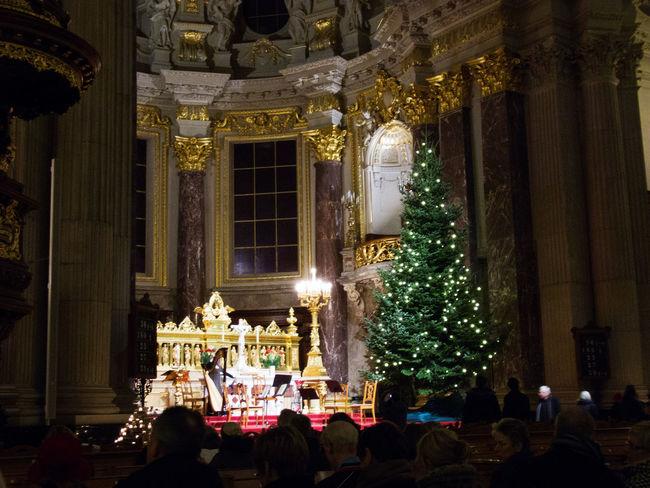 2011 Berlin Berlinerdom Christmas Christmas Tree December Xmas Xmas Decorations Xmas Tree