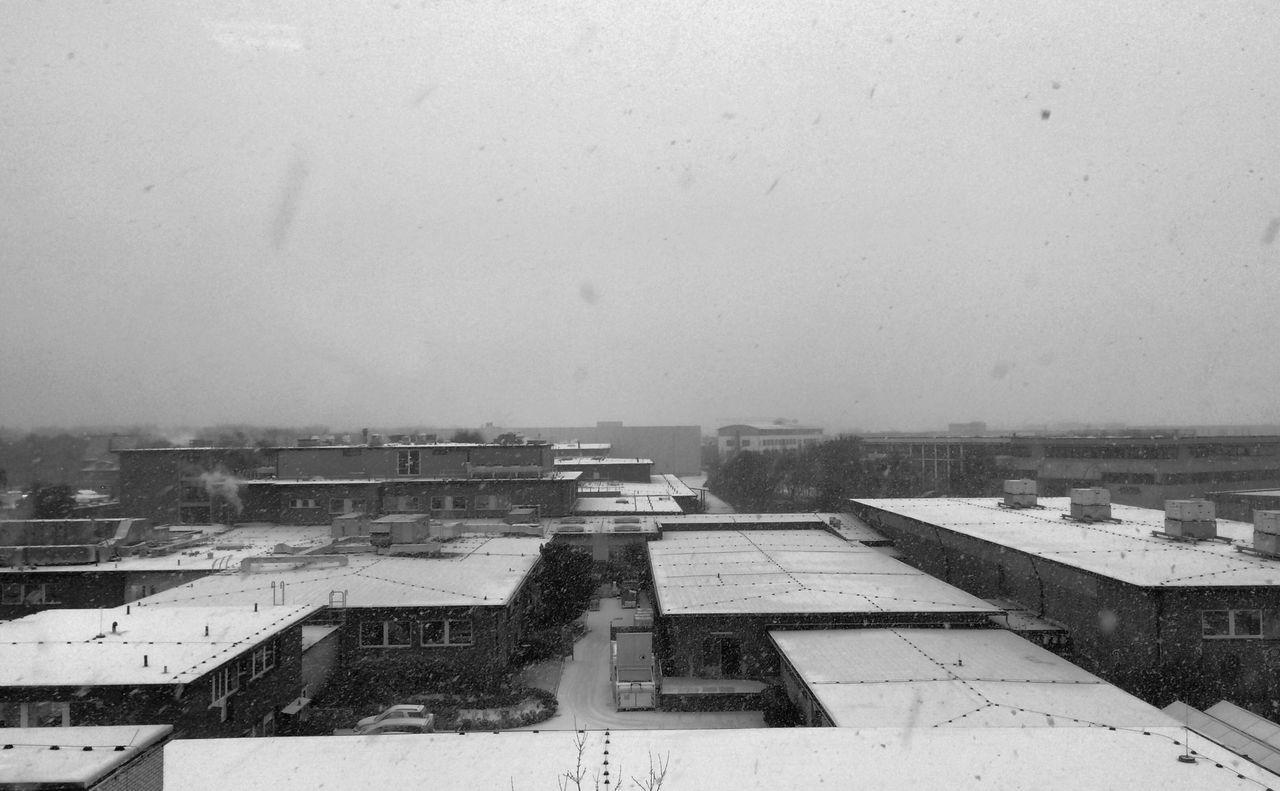 Blackandwhite Samesamebutdifferent Industrial Landscapes