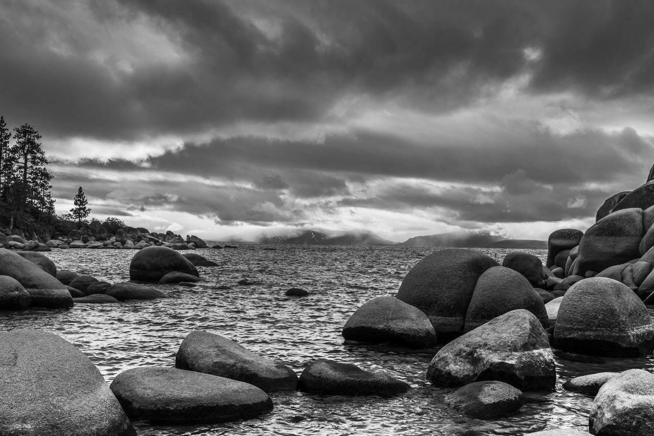 Beauty In Nature Blackandwhite California EyeEm EyeEm Best Shots EyeEm Gallery EyeEm Nature Lover Lake Lake Tahoe Lake View Nature No People Outdoors Peaceful Pebble Rocks Rocks And Water Scenics Serenity This Week On Eyeem Tranquil Scene Tranquility Water