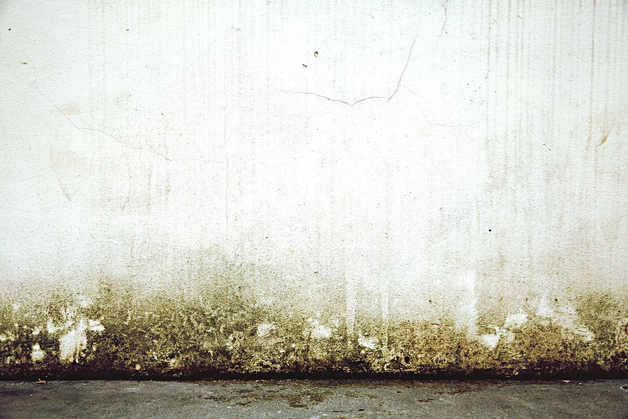Street Wall Sidewalk Background Concrete White Wall Front