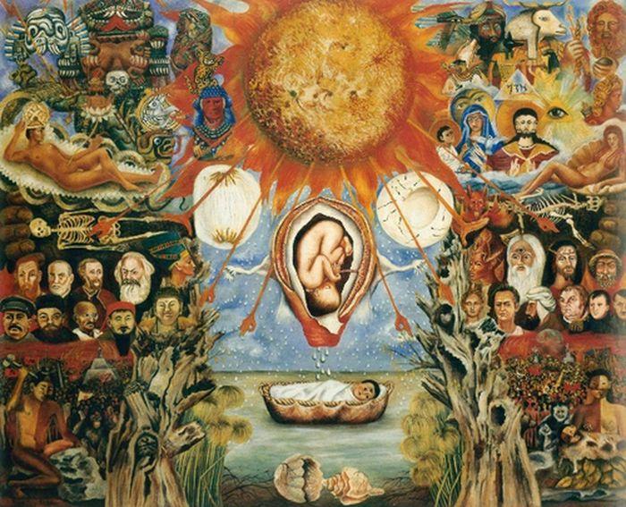 Frida Kahlo Paint