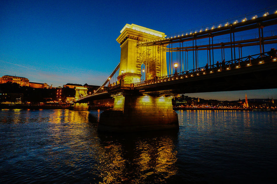 Beautiful stock photos of hungary, Architecture, Bridge - Man Made Structure, Building Exterior, Built Structure