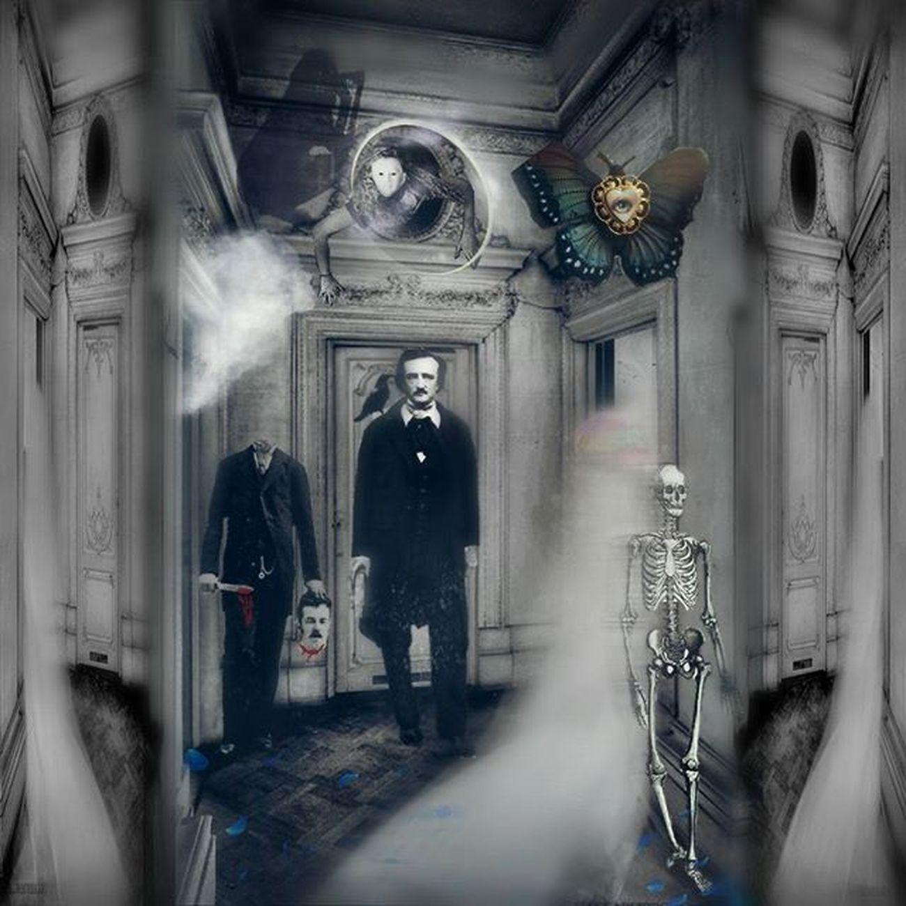 Digitalart  Artvisuals Photocomposite Photoart Conceptart Digitalartwork Loves_edits Masters_of_darkness Friendsofshadowandlight Poe Edgarallanpoe Victorian Death Spirits Ghosts Collage Digitalcollage