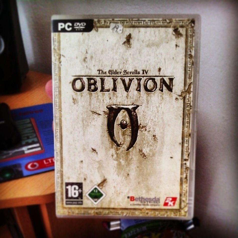 Lange nicht mehr gehabt *_* Theelderscrolls Oblivion Theelderscrollsiv Rollenspiel pc classic alltimefavorite