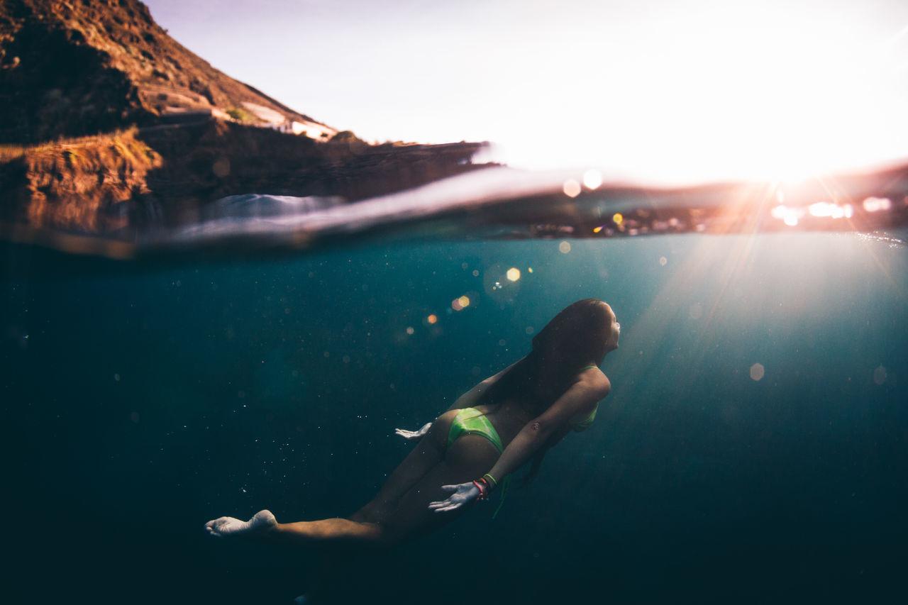 Beautiful stock photos of bikini, 20-24 Years, Beauty In Nature, Bikini, Bright
