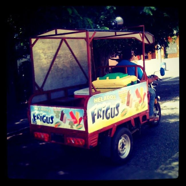 Dominican Icecream Truck Iphonegraph iphonegraphy