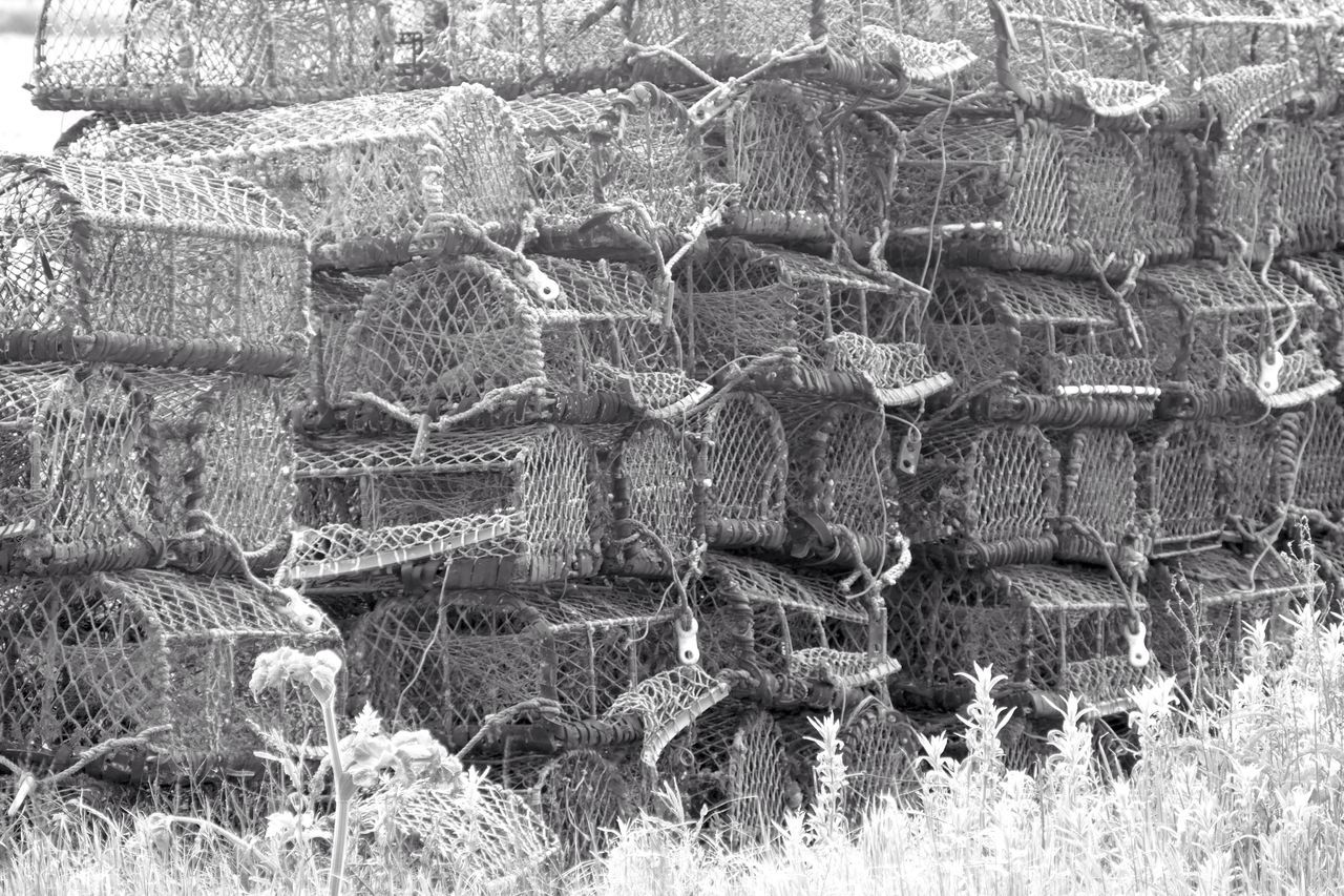 Lobster Pots LUMIX DMC FZ1000 Tunstall East Yorkshire Blackandwhite Black And White Black & White Blackandwhite Photography Black And White Photography