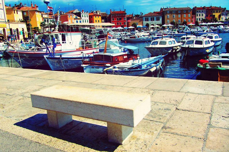 Rovinj Fishingboat Hello World Enjoying Life