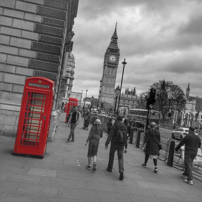 London Lifestyle Big Ben Telephone Box
