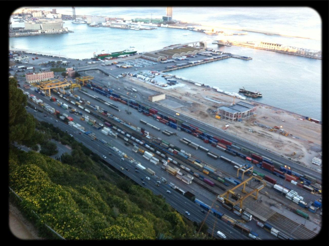Port Barcelone