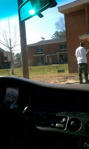 in Durham in the projects !