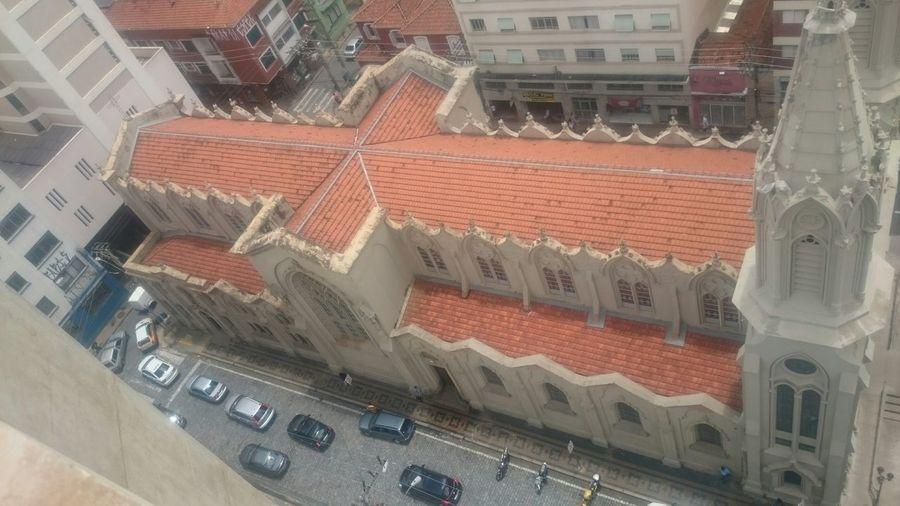 Campinas, São Paulo, Brasil Catedral Semfiltro XperiaZ1 Vista-de-cima