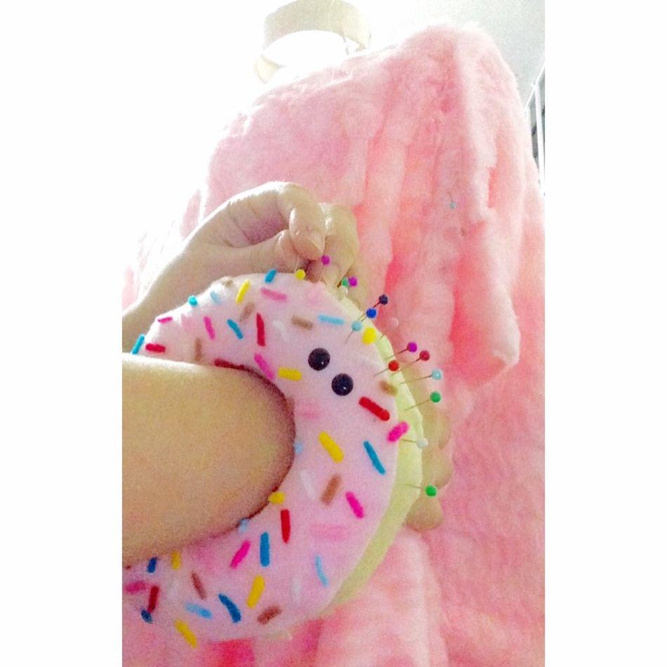 💗🐸🍭 Laviniafenton Design Clothes Cute Ideas Handmade Needlecase Donut Cool Mywork