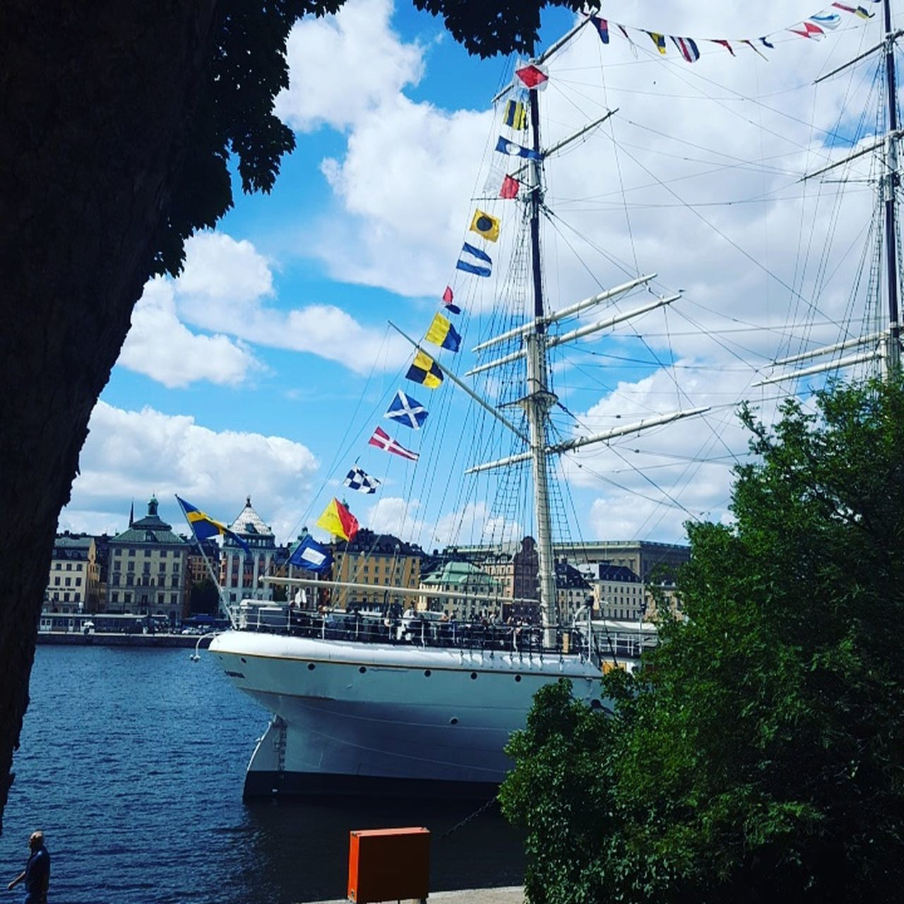 Boats⛵️ Lunchtime! Greatday Sportday Challenge World Sweden Scandinavia