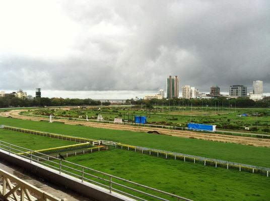 at Mahalaxmi Race Course (Royal Western India Turf Club) by Dwijendra  Biswas