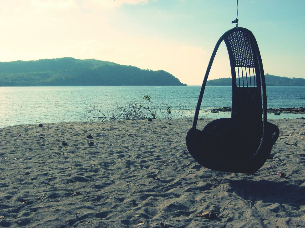 water, nature, sand, sea, no people, beauty in nature, sky, scenics, beach, tranquility, outdoors, day, hanging, close-up
