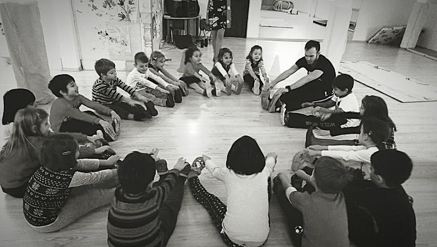 Large Group Of People Indoors  High Angle View Adult People Childhood Junior High Day Togetherness Kids Kids Being Kids Kids Having Fun Kids Are Awesome Kids Photography Sport Instructor Kindergarden Kindergarden Room Kindergarden Friend  Mid Adult Full Length Men Technology Musical Instrument Adults Only