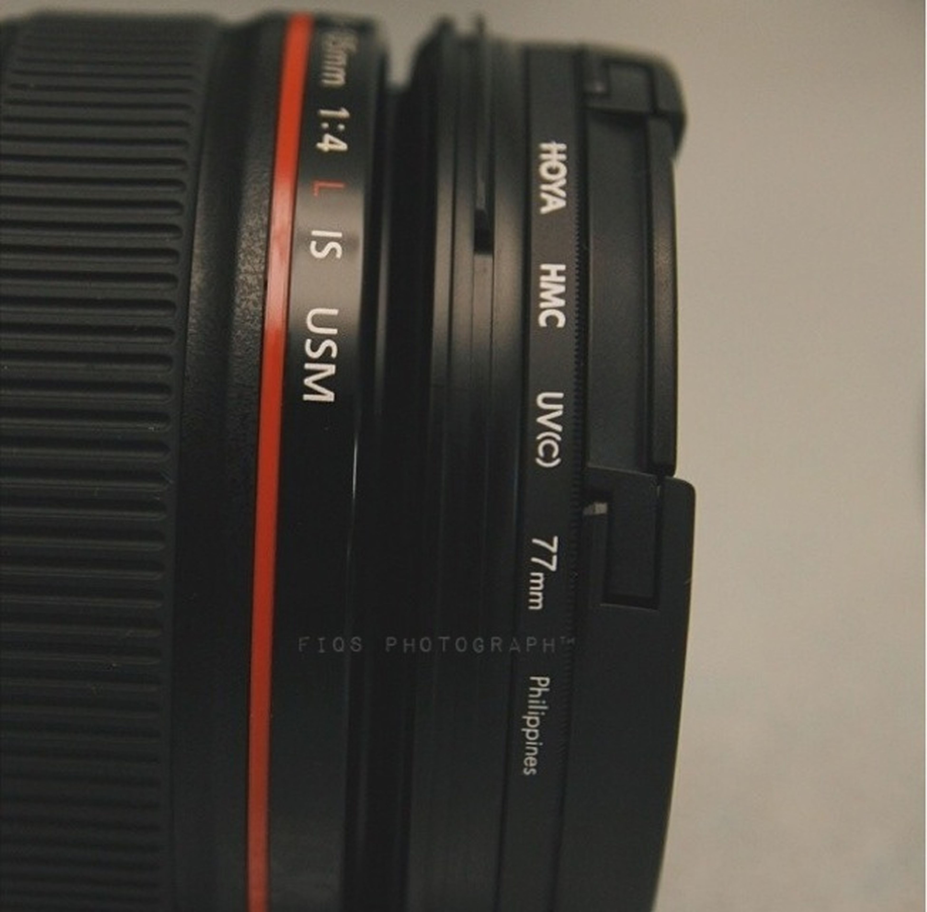 Red Sexy Ring Lenses Aperture 1.4 Lseries Canon