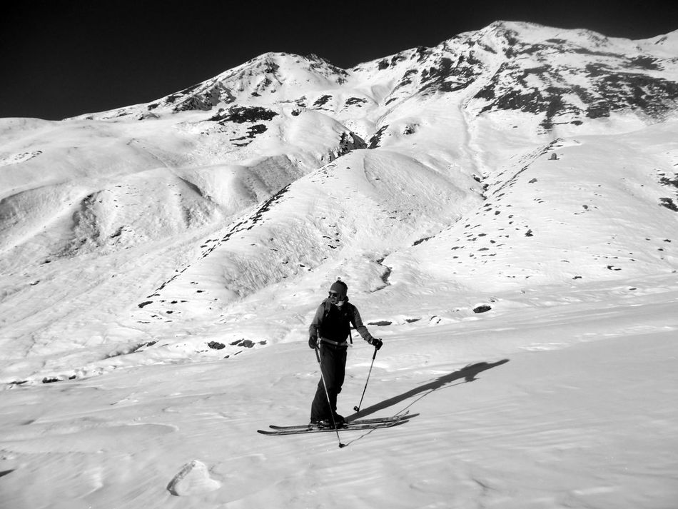 Adventure Beauty In Nature Cold Temperature Day Equipment Full Length Leisure Activity Men Nature One Man Only One Person Only Men Outdoors People Real People Scenics Sky Snow Snow Sports Snow Time Winter