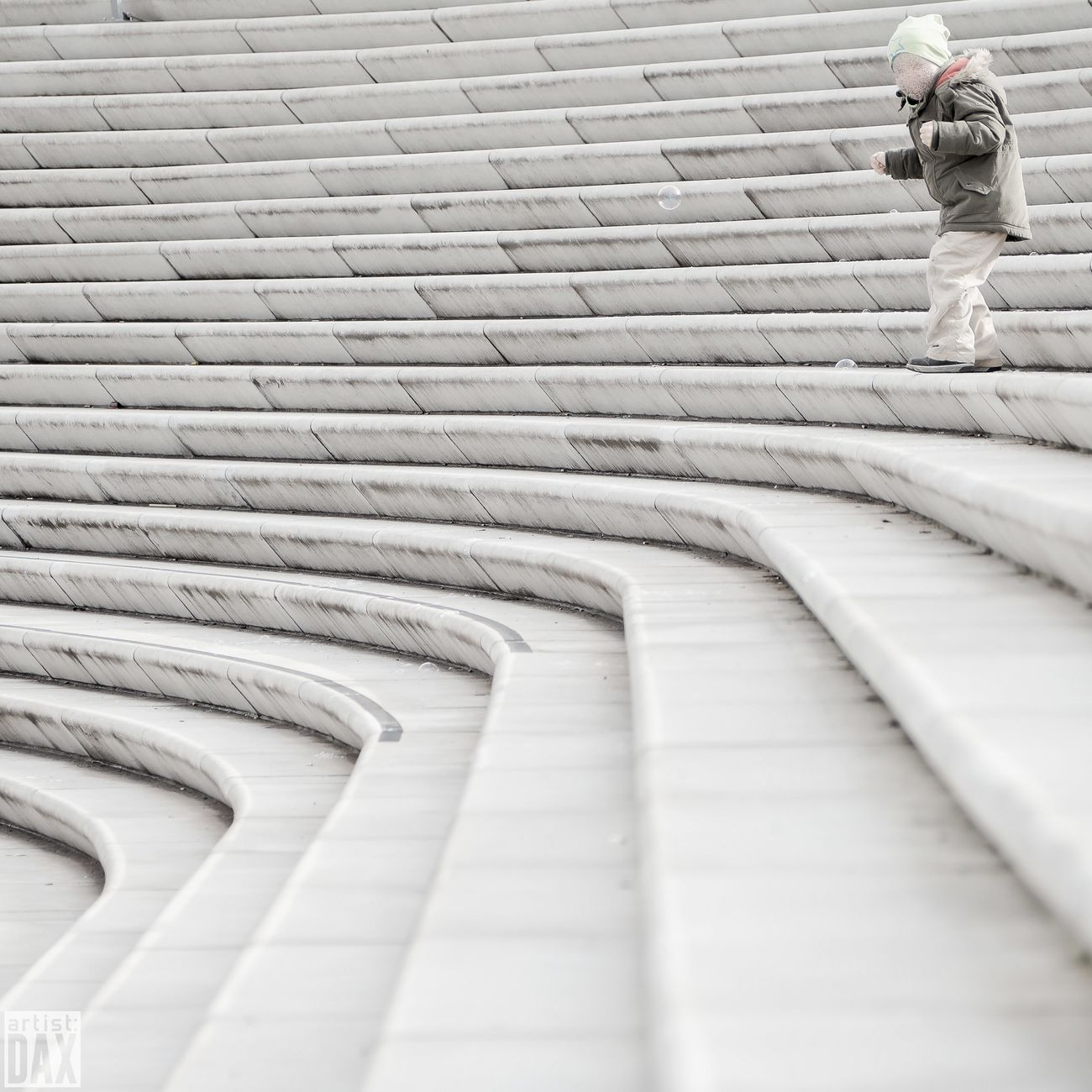 Bubble fun artist:DAX PHOTOGRAPHOHOLIC I born to capture | Steps Steps And Staircases Staircase Architecture Outdoors Built Structure Day Abstractarchitecture Simple Elegance Minimalism Photography Germany 🇩🇪 Deutschland Hamburg Elbpromenade ArtistDAX EyeEm Gallery EyeEm Best Shots - Architecture Childsplay Children Playing