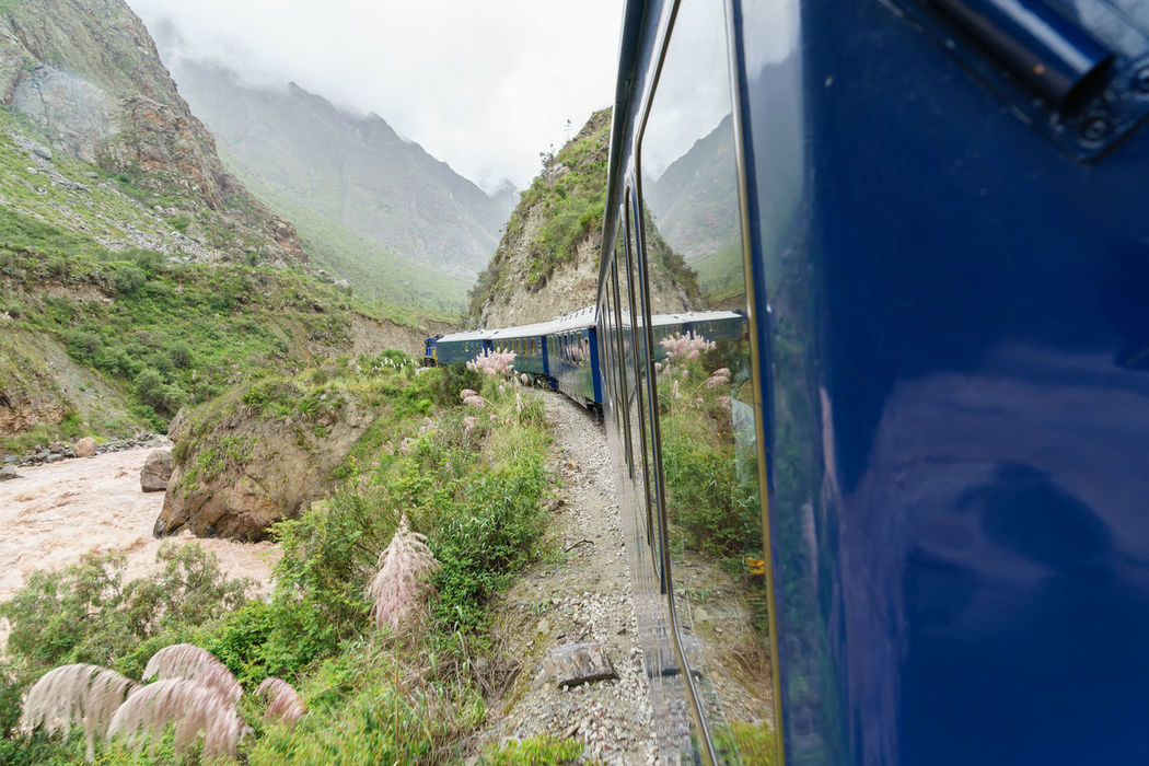 America Bingham Hiram Historical International Landmark Machu Picchu Peru South Train Traveling Landscapes With WhiteWall The KIOMI Collection