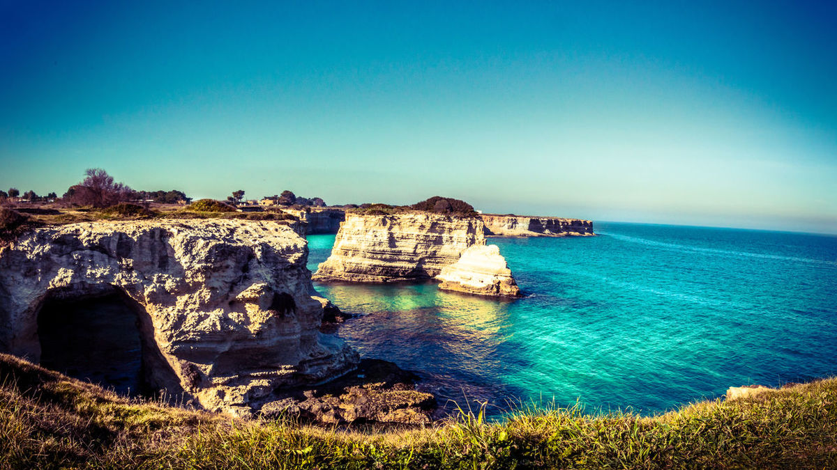 Travel is more than the seeing of sights; it is a change that goes on, deep and permanent in the ideas of living. (M.R. Beard) Blue Sea And Sky Tranquil Scene Sea Blue Wave Scenics Seaside Outdoors Landscape_photography Seascape Landscape Italy Coastline Blue Sky Cliff EyeEm Nature Lover Landscapes With WhiteWall Freedom Landscape_Collection Scenic LookoutTravel Sea View Nature Photography Lookout Landscape_photography