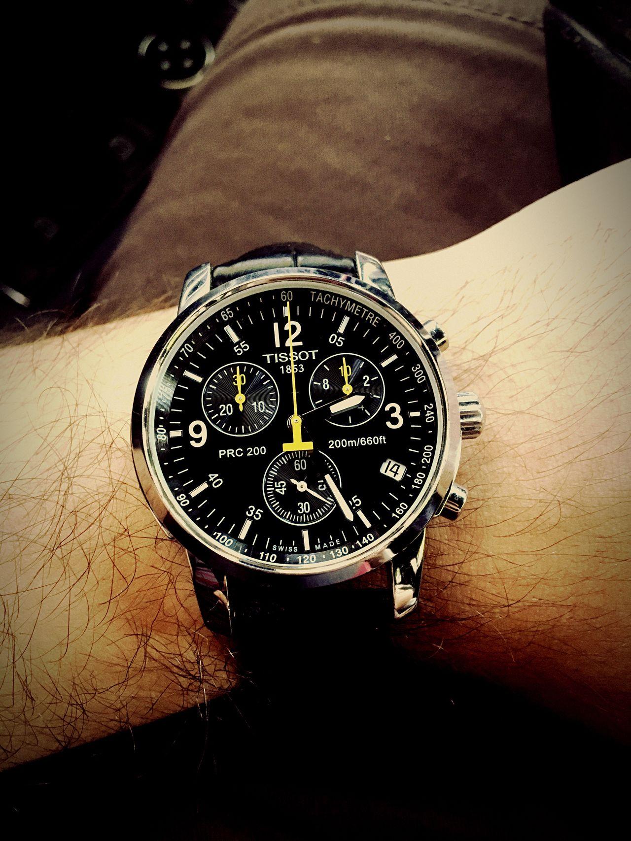 Tissot Prc 200 Tissot Watch Watchcollector Passion Lifestyle Swisswatch Swissmade Mine Close-up